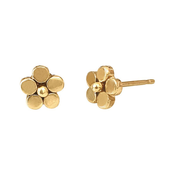 Gold Lilac Studs - Lauren Sigman Collection