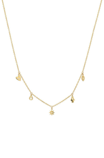 Baby Charms Confetti Necklace - Lauren Sigman Collection