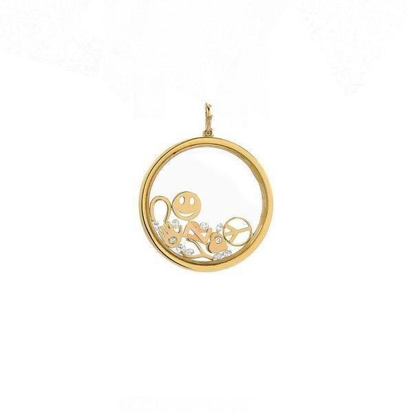 14k Small Gold Locket - Lauren Sigman Collection