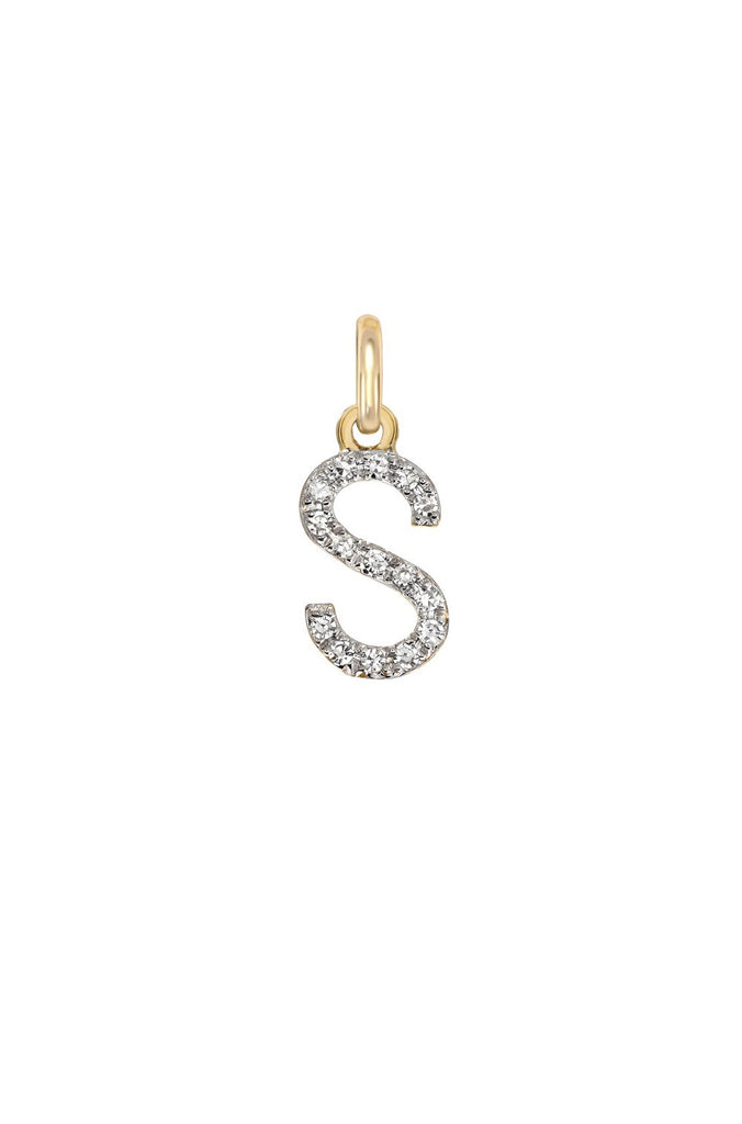Diamond Initial Charms - Lauren Sigman Collection