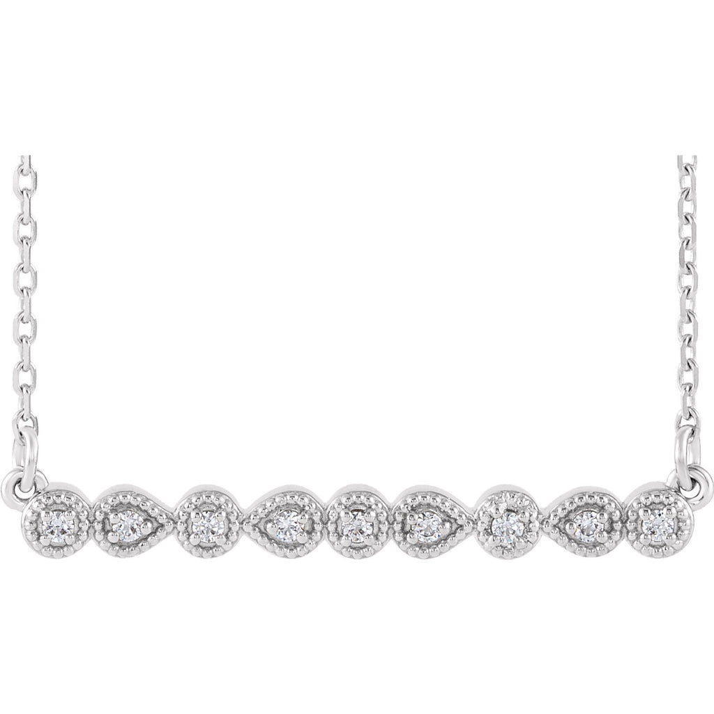 Antique Bar Necklace - Lauren Sigman Collection