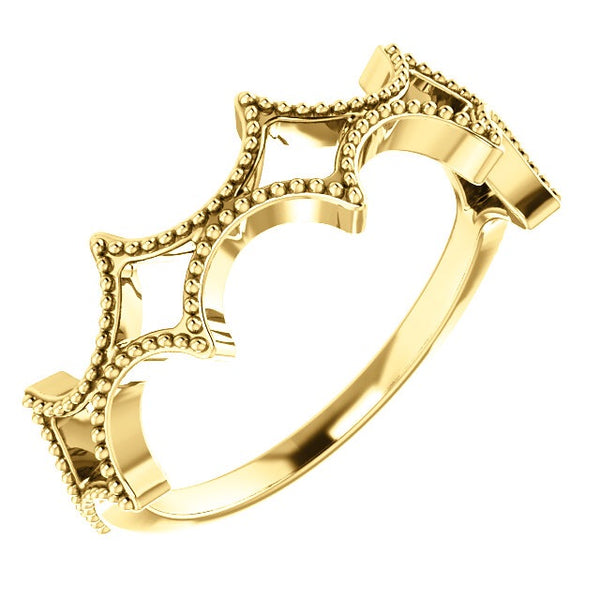 Stackable Crown Band - Lauren Sigman Collection