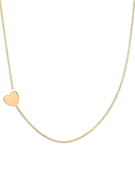 Asymmetrical Heart Necklace - Lauren Sigman Collection