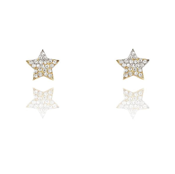 Diamond Star Stud Earrings - Lauren Sigman Collection