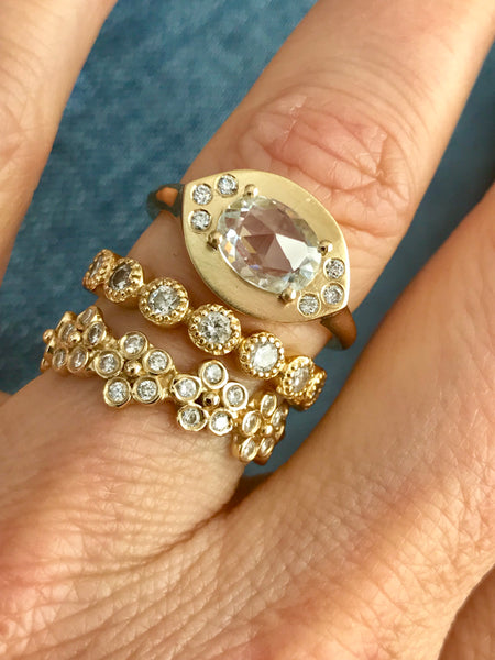 Azalea Spinel & Diamond Ring - Lauren Sigman Collection
