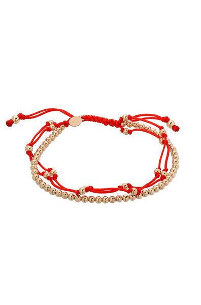 Red Trio Furtune Bracelet