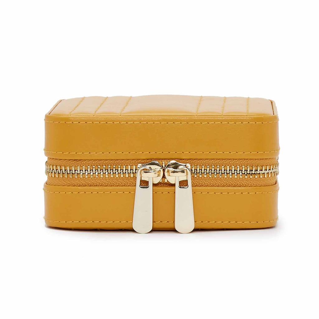 Maria Small Zip Case (Mustard) - Lauren Sigman Collection