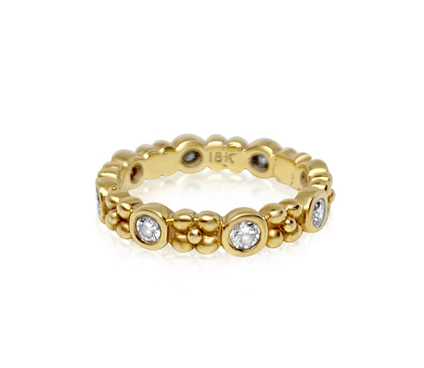Wildberry Diamond  Band - Lauren Sigman Collection