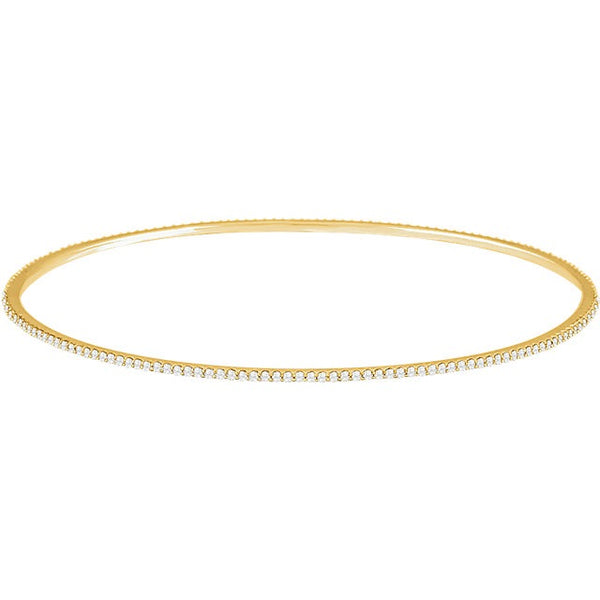 Stackable Bangle/Prong Set/2ctw - Lauren Sigman Collection