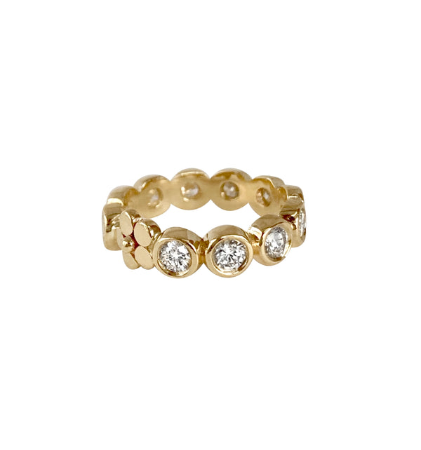 Diamond Primrose Anniversary Band/1.5 ctw - Lauren Sigman Collection