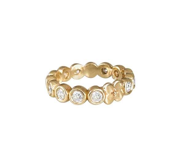 Diamond Primrose Anniversary Band/1ctw - Lauren Sigman Collection