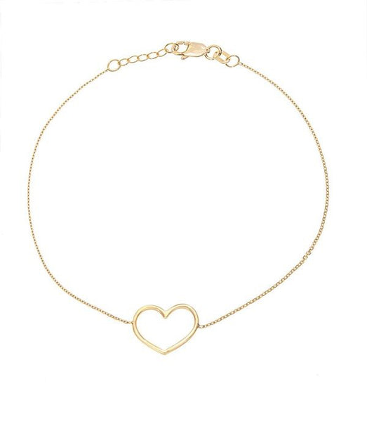 Wire Heart Bracelet - Lauren Sigman Collection