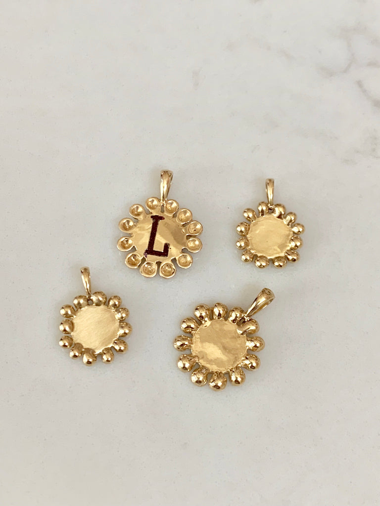 Small Bead Disk Charm - Lauren Sigman Collection