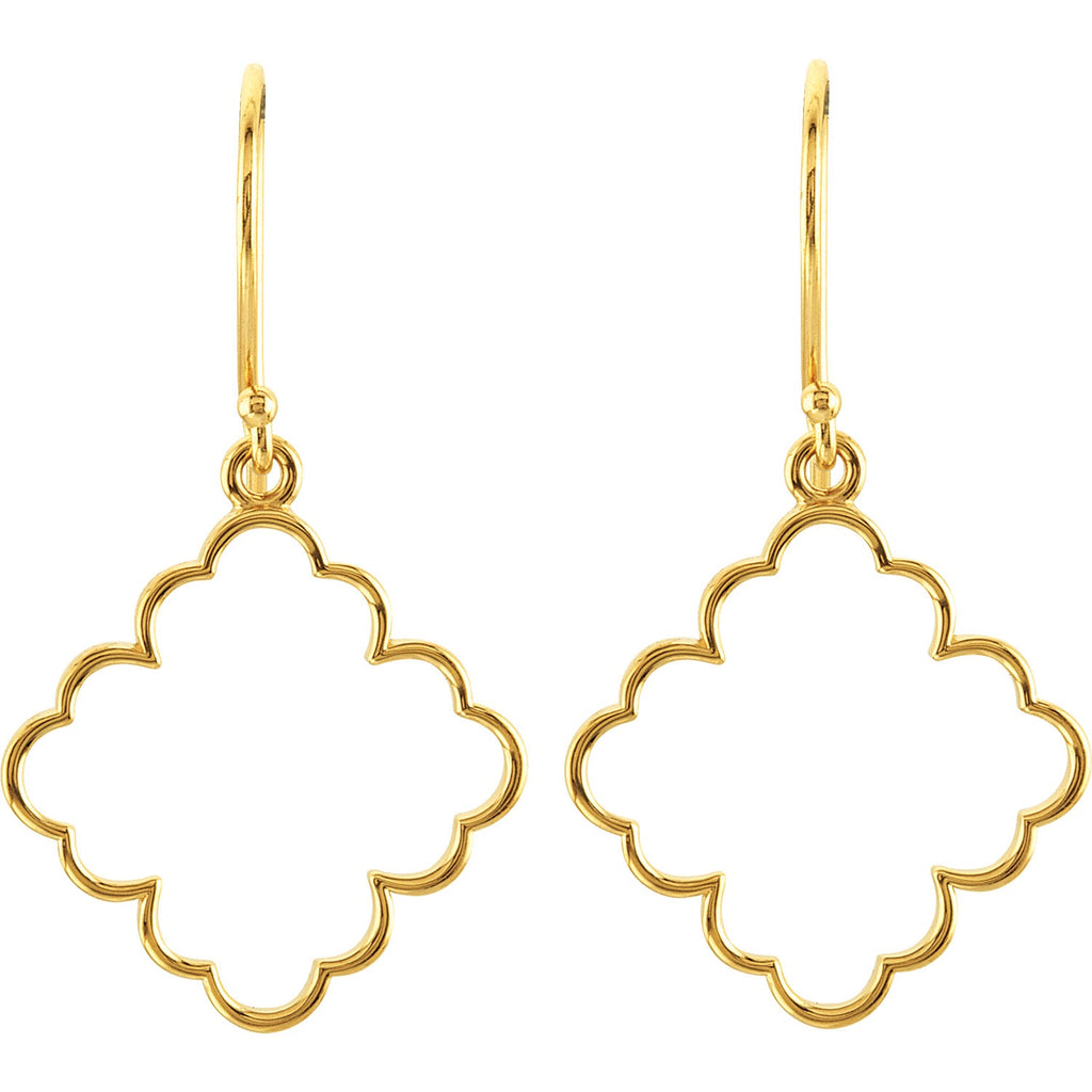 Boho gold earrings - Lauren Sigman Collection