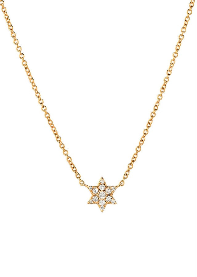Diamond Star Necklace - Lauren Sigman Collection