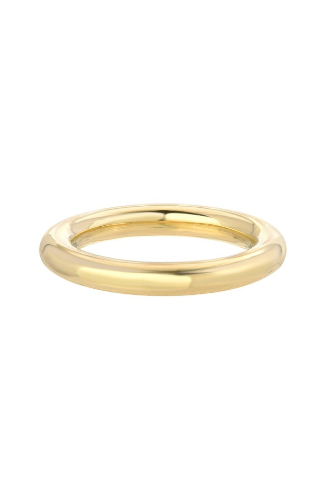 Round Gold Band - Lauren Sigman Collection