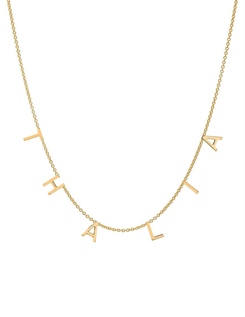 Mini Initial Necklace - Lauren Sigman Collection