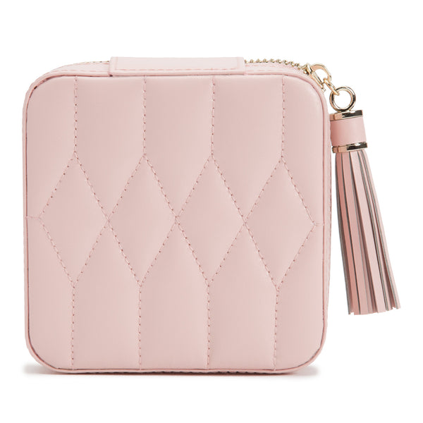 Caroline Zip Travel Case (Rose Quartz) - Lauren Sigman Collection