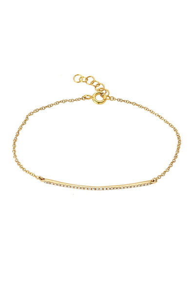 Diamond Bar Bracelet - Lauren Sigman Collection