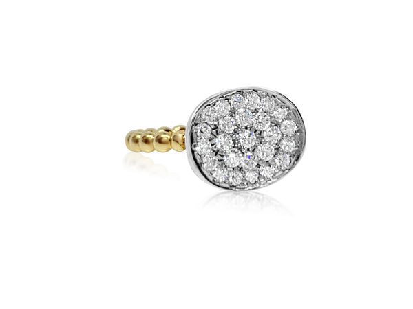 Mum Ring with Diamonds - Lauren Sigman Collection