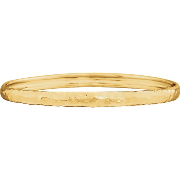 Hammered Bangle - Lauren Sigman Collection