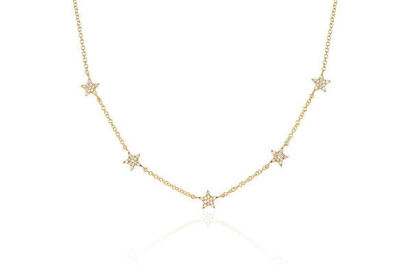 5 Star Diamond Necklace - Lauren Sigman Collection
