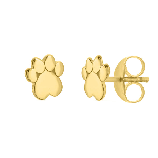 Dog Paw Stud Earrings - Lauren Sigman Collection