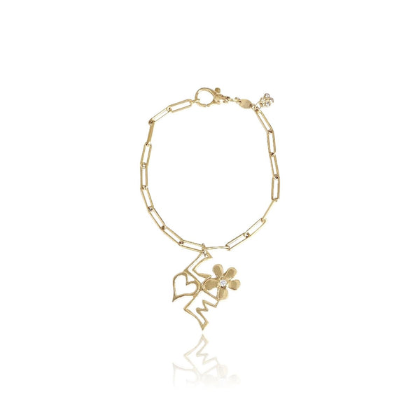 Long Link Charm Bracelet - Lauren Sigman Collection