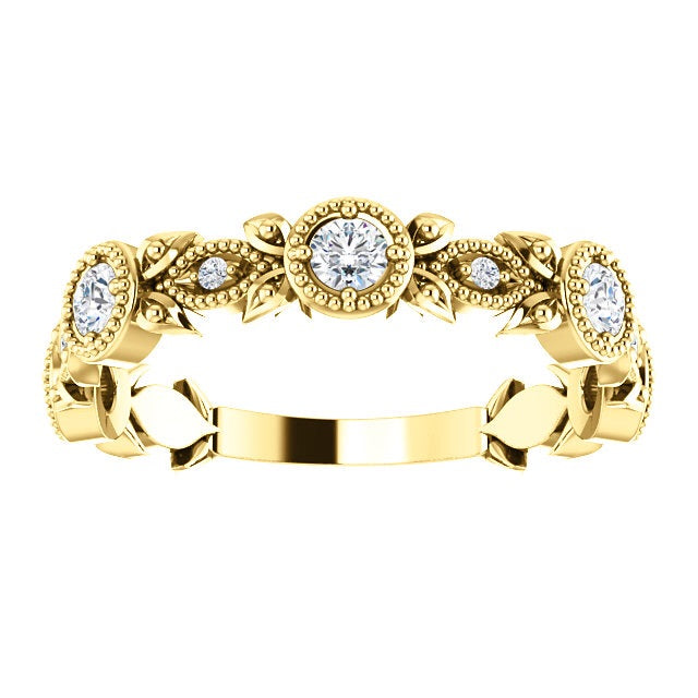 Antique Flower Diamond Ring - Lauren Sigman Collection