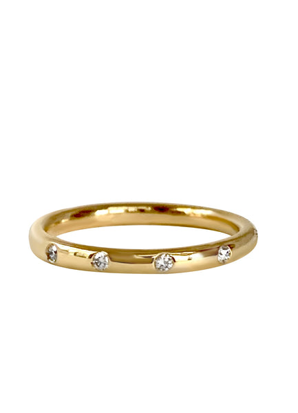 Diamond Aster Band in 18k Gold - Lauren Sigman Collection