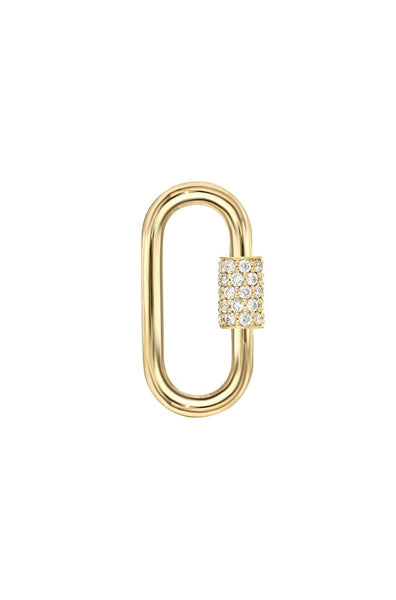 Diamond Carabiner Lock - Lauren Sigman Collection