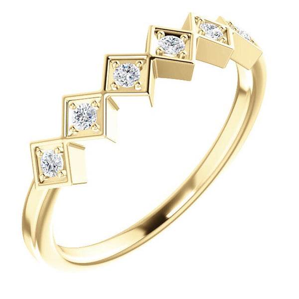 Diamond Stacking Ring - Lauren Sigman Collection