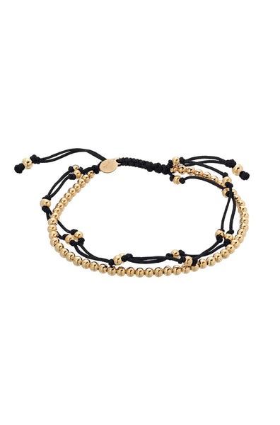 Black Trio Furtune Bracelet - Lauren Sigman Collection