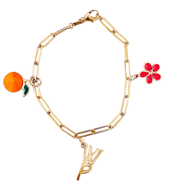 Collaboration Charm Bracelet/WP/Grove/LSC - Lauren Sigman Collection