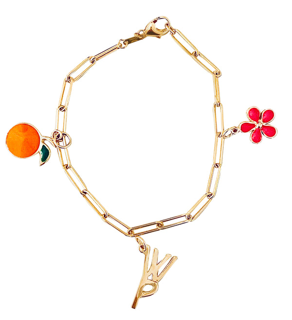 LSC x The Grove Collaboration Charm Bracelet - Lauren Sigman Collection