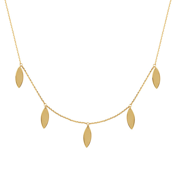 Confetti Leaf Necklace - Lauren Sigman Collection
