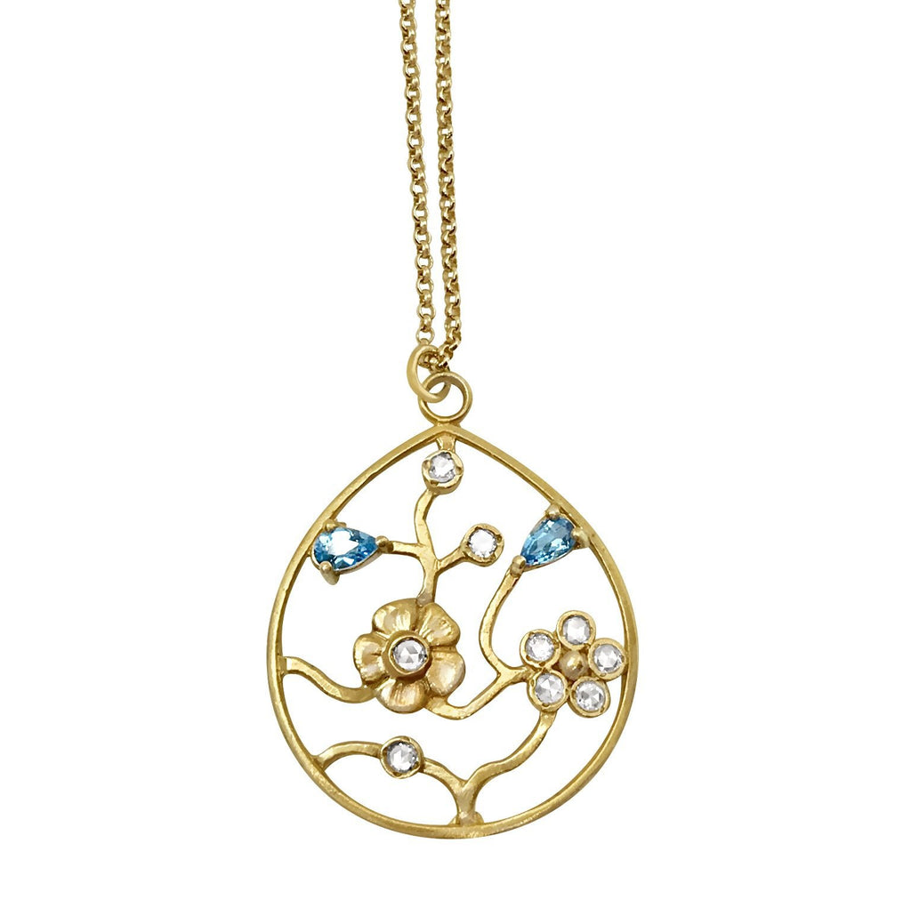 Tree of Life Diamond Pendant Necklace - Lauren Sigman Collection