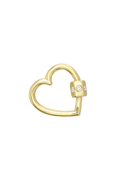 Diamond Carabiner Heart - Lauren Sigman Collection