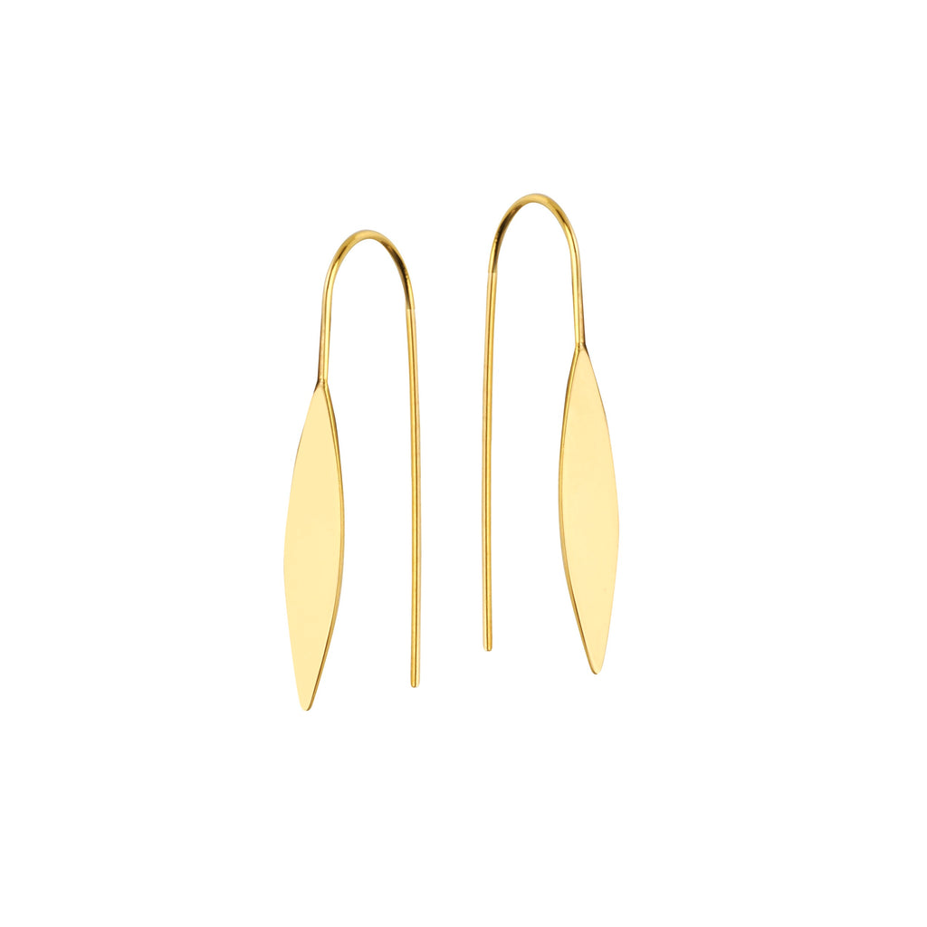 Leaf Hanging Earrings - Lauren Sigman Collection