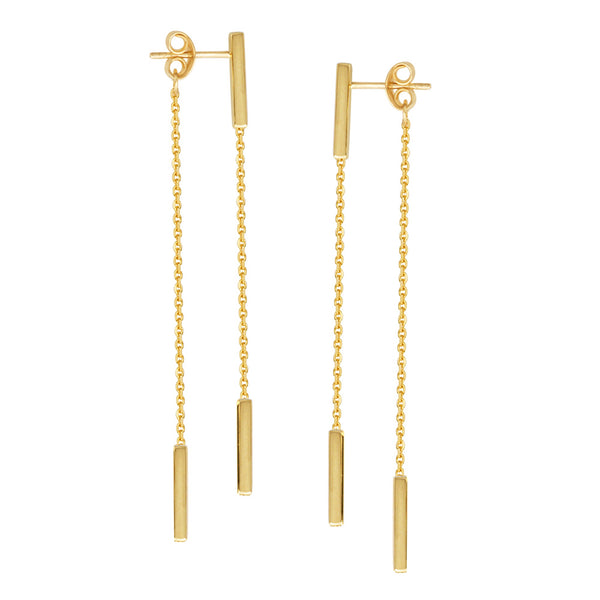 Double sided chain studs - Lauren Sigman Collection