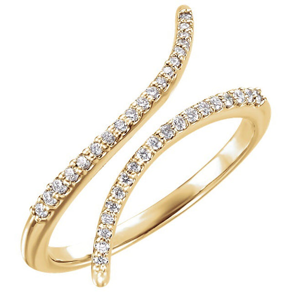 Wave Diamond Ring - Lauren Sigman Collection