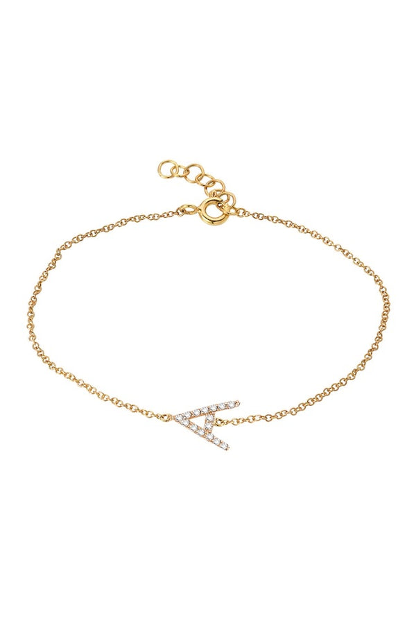 Diamond Initial Bracelet - Lauren Sigman Collection