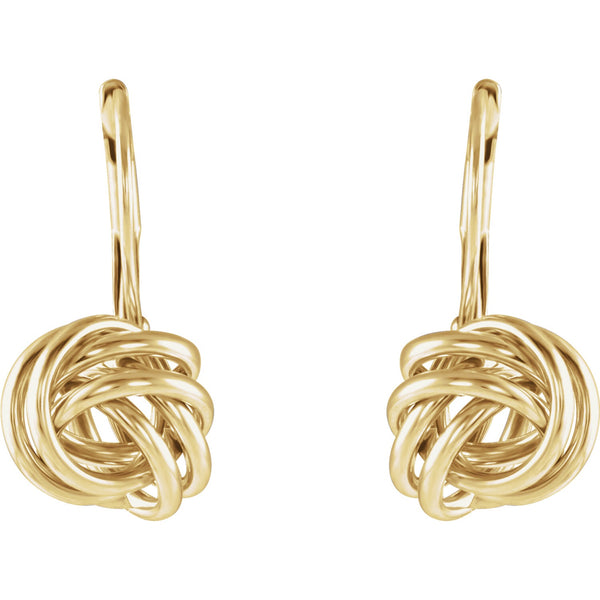 Hanging Gold Knots - Lauren Sigman Collection