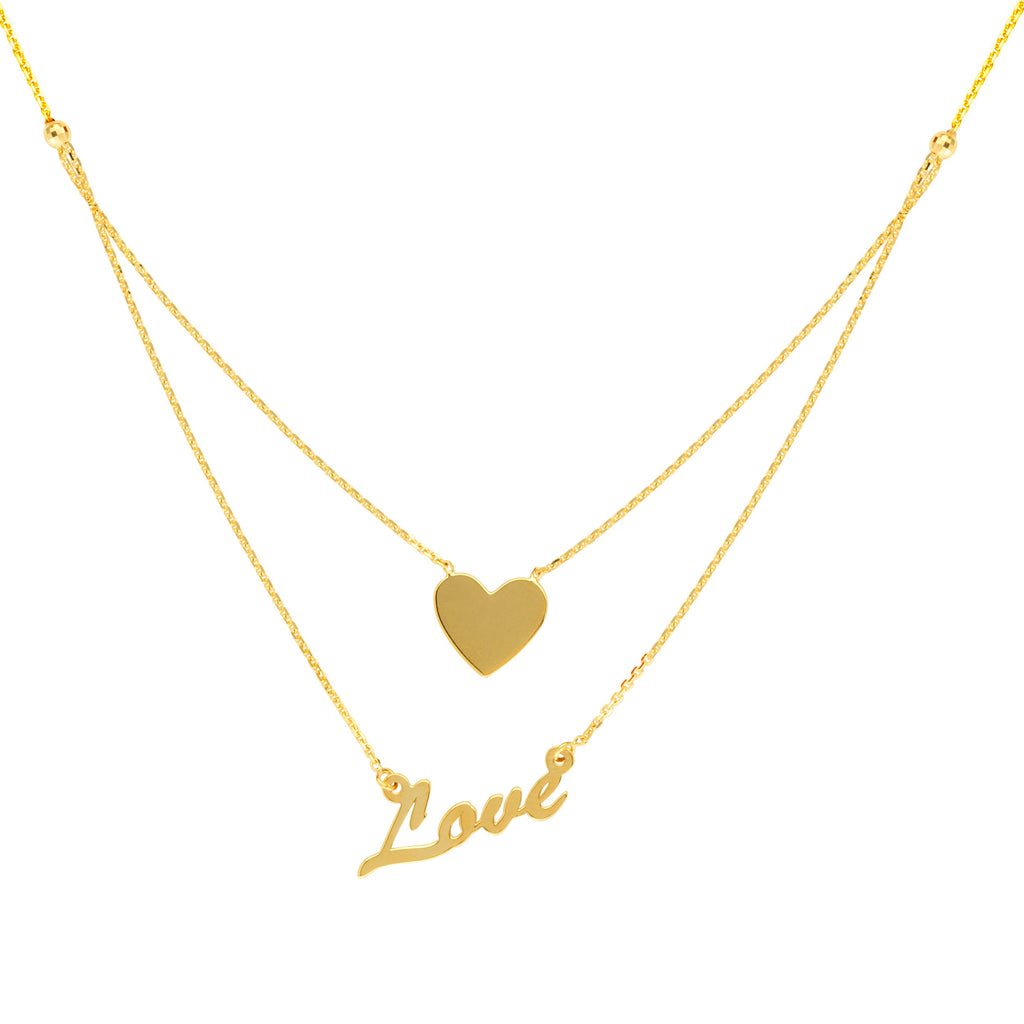 Double Love Necklace - Lauren Sigman Collection