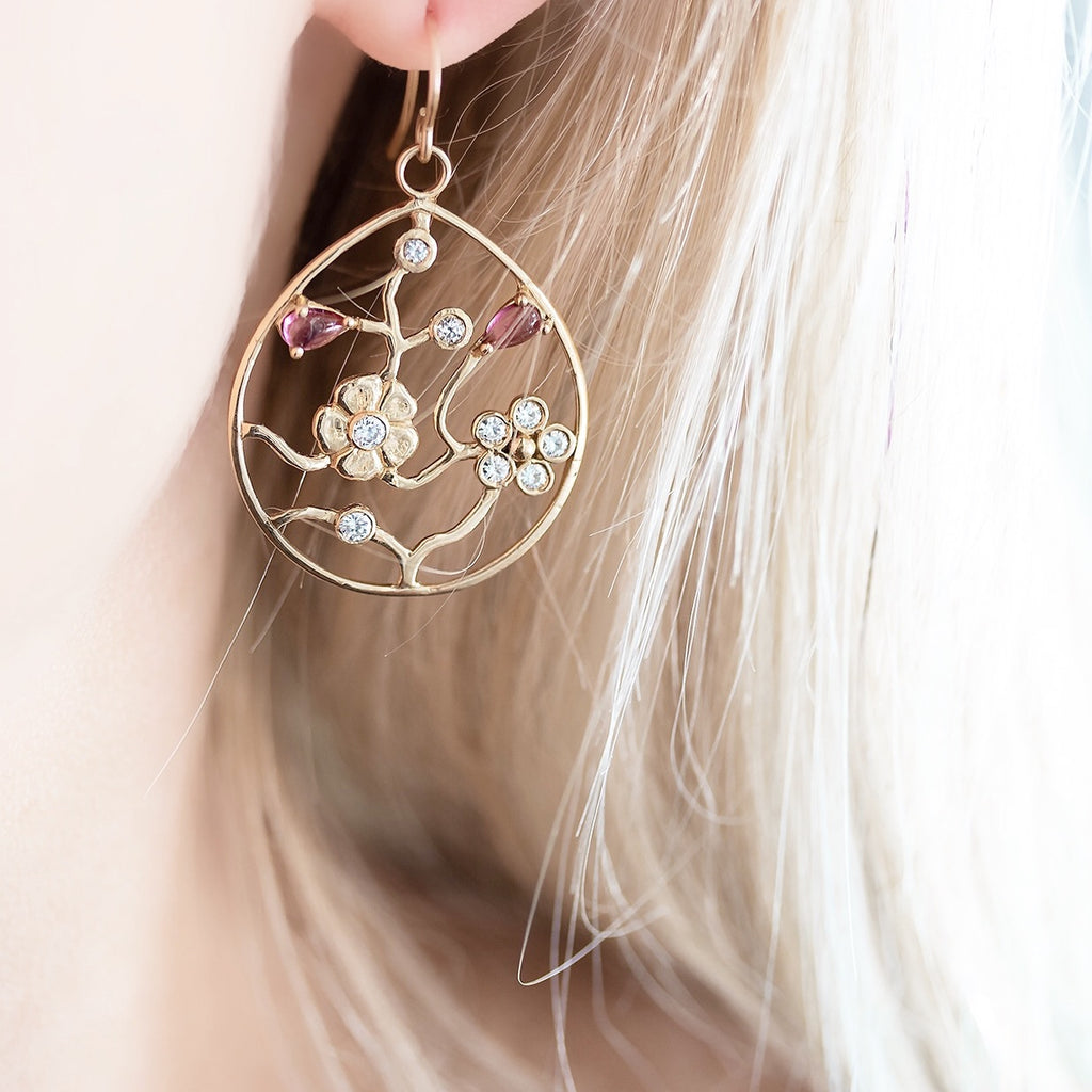 Tree of Life Hoops - Lauren Sigman Collection