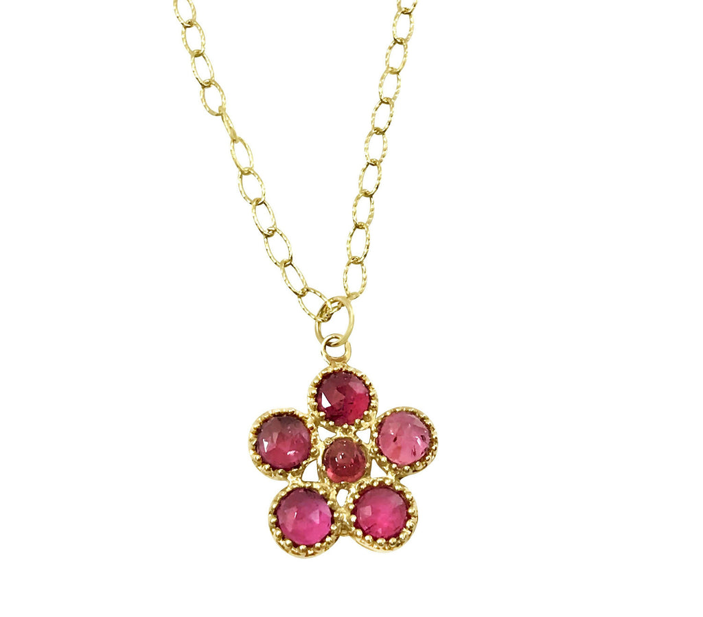 Tourmaline snowflake necklace - Lauren Sigman Collection