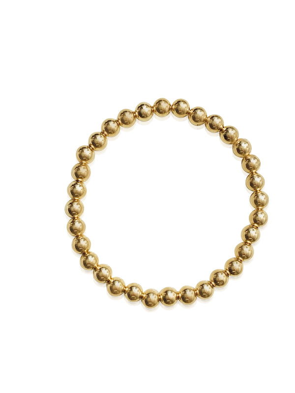 Gold Bead Bracelet - Lauren Sigman Collection