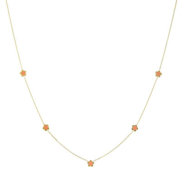 Flower Enamel Necklace - Lauren Sigman Collection