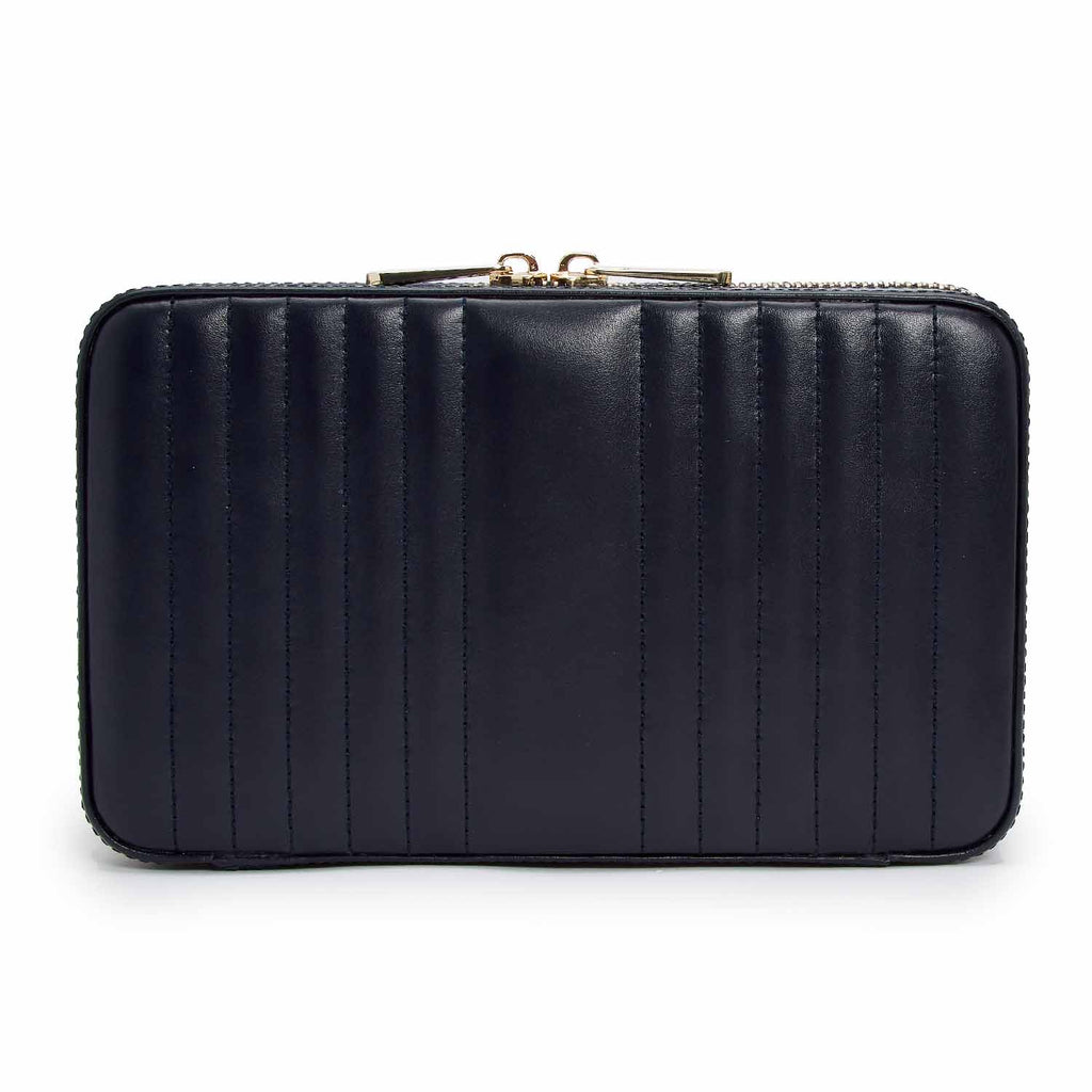 Maria Medium Zip Case (Navy) - Lauren Sigman Collection