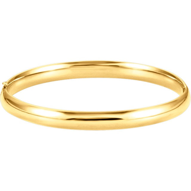 Hinged Bangle-6.5mm - Lauren Sigman Collection